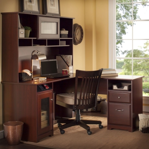 Corner Study Desk Design Pictures Dark Brown Wooden Corner Study Desks Dark Brown Wooden Swivel Chair - Corner Desk Ideas